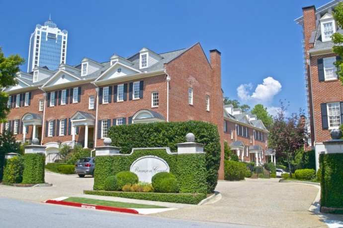 Rumson Court Buckhead Atlanta Townhomes For Sale