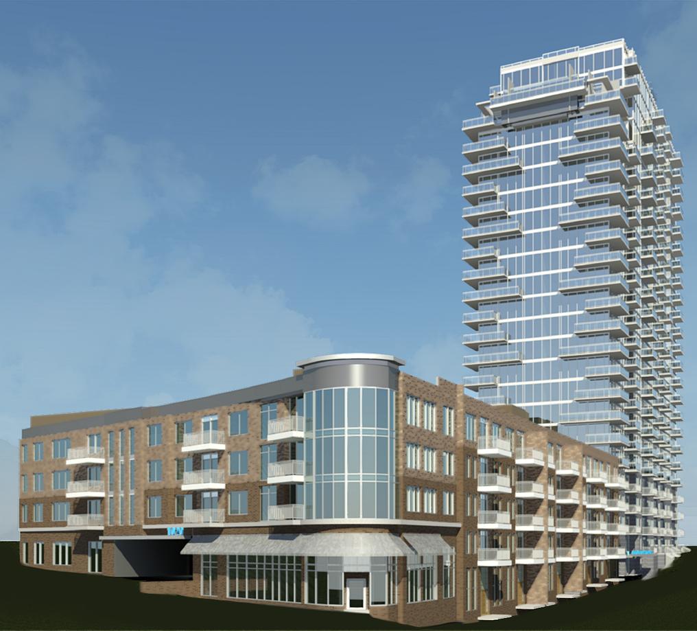 Azure On The Park Midtown Atlanta Apartments