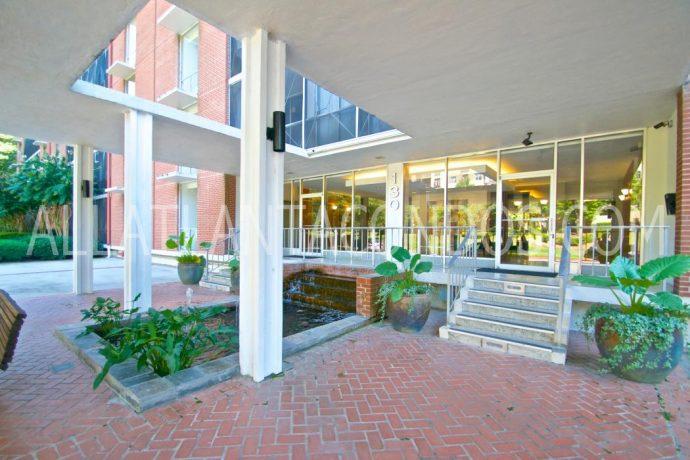 Residents Entrance At Brookwood Park Atlanta Highrise Condos