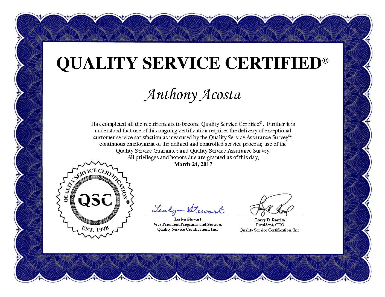FOR IMMEDIATE RELEASE - Anthony Acosta Atlanta HorizonView Group ...