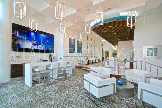Main Lobby At Cyan On Peachtree Buckhead Atlanta Luxury Rentals
