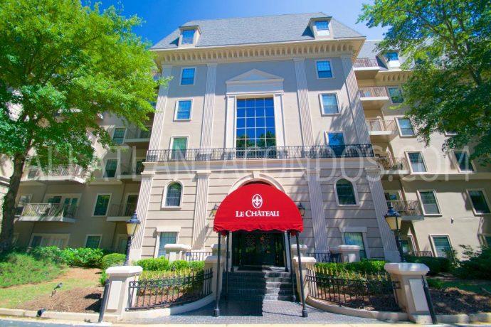 Le Chateau Buckhead Atlanta Condos For Sale or for Rent 30327