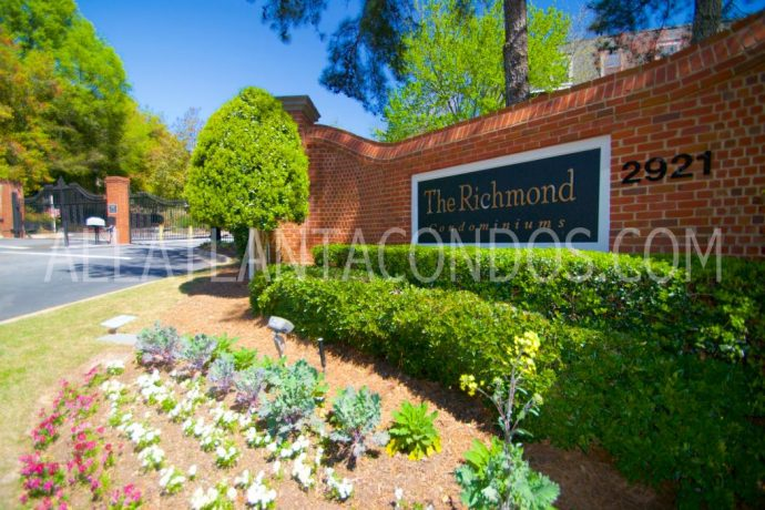 The Richmond Buckhead Atlanta Midrise Condos For Sale or For Rent