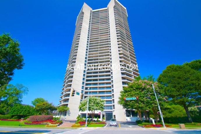 Park Place on Peachtree Buckhead High-rise Atlanta Condos For Sale 30305