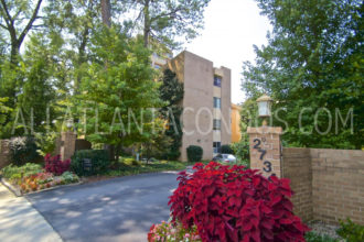 Peachtree Andrews Mid-rise Buckhead Atlanta Condos For Sale 30305