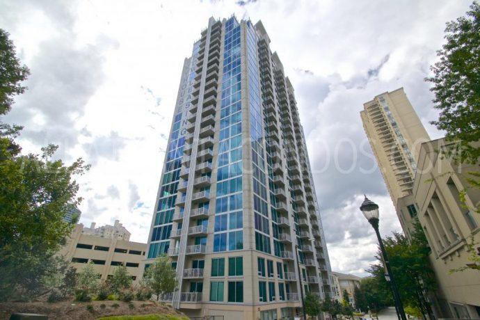 Building Exterior Skyhouse Highrise Buckhead Atlanta Luxury Apartment Condos