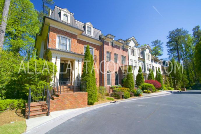 Alexandria buckhead atlanta townhomes for Luxury townhomes for sale