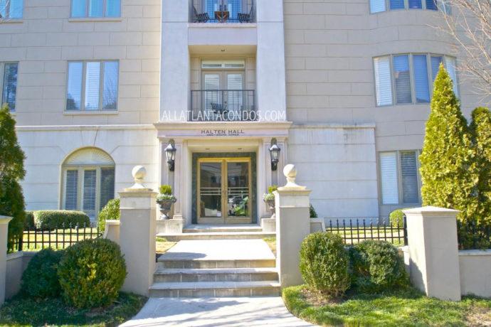 Halten Hall Oaks Buckhead Atlanta Midrise Condos For Sale 30305