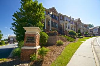 Vinings Overlook Atlanta Townhomes For Sale 30339